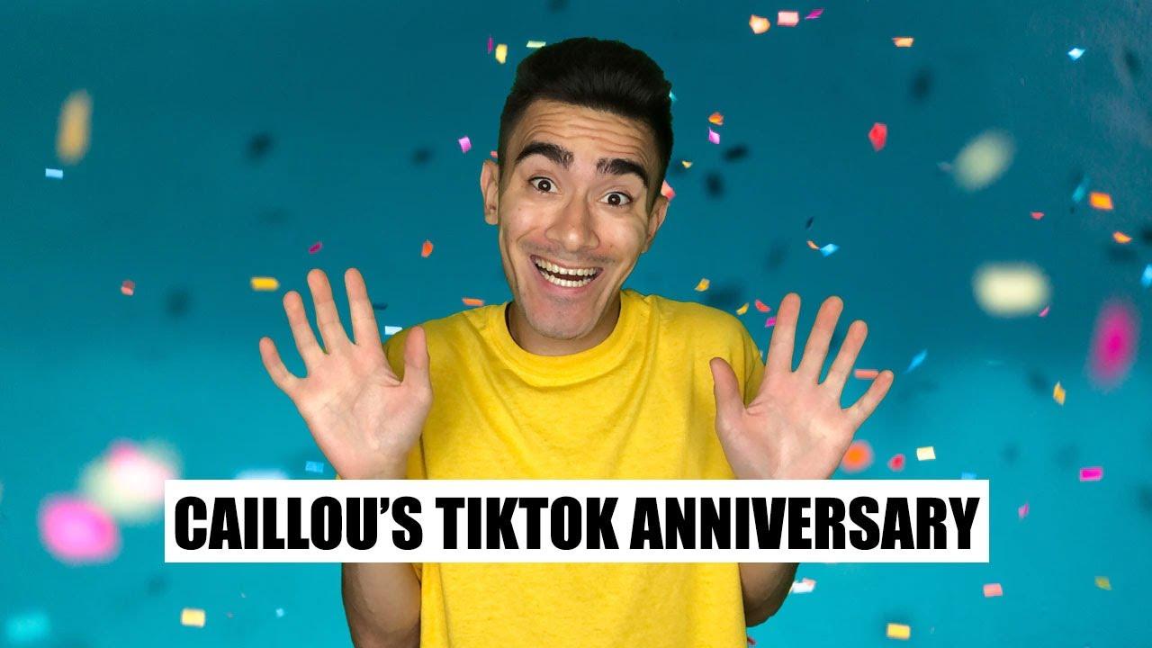 Caillou's Tiktok Anniversary #shorts