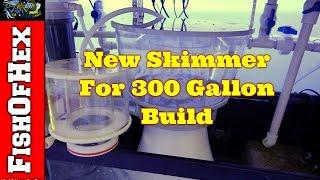 New Skimmer! Nyos Quantum 300 | 300 Gallon Reef Tank