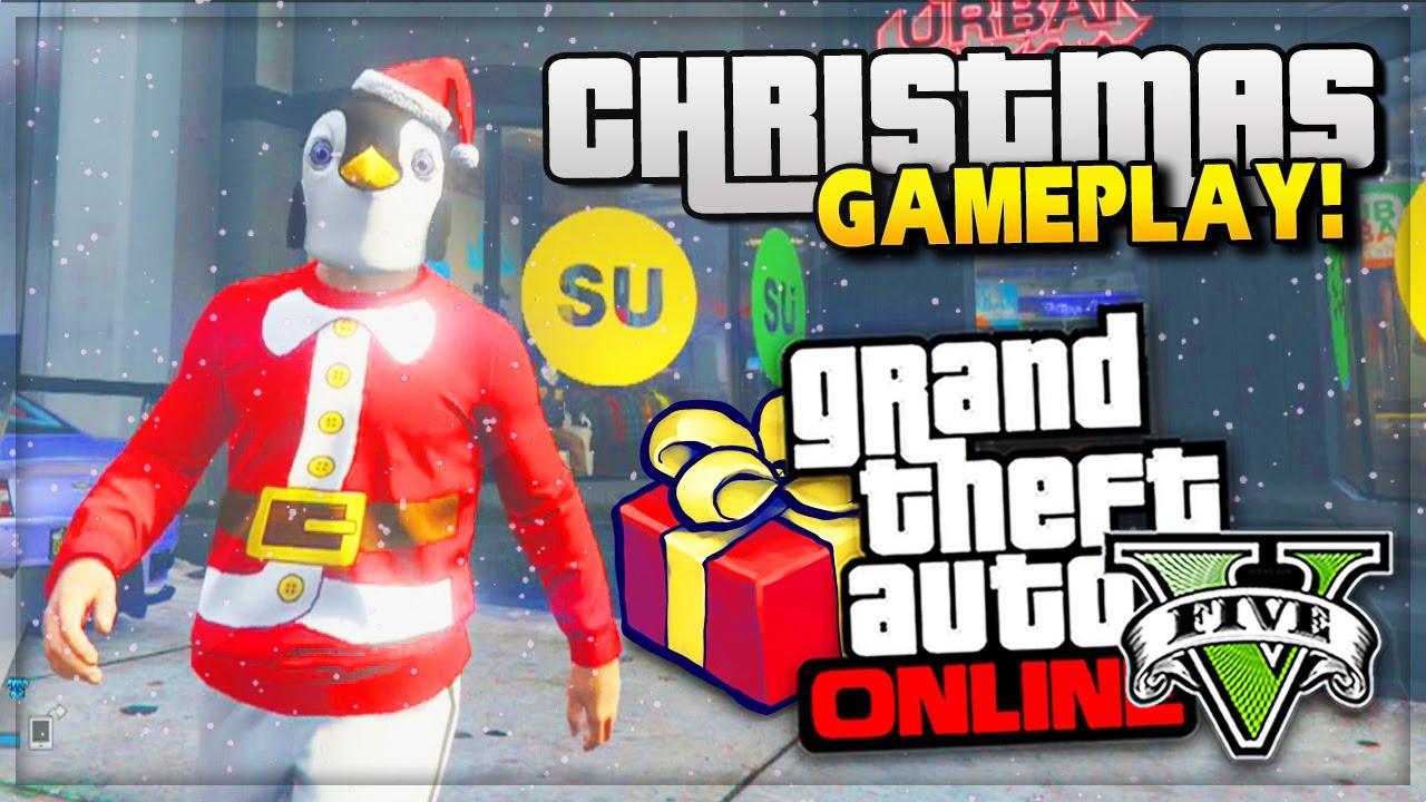 GTA 5 Online Christmas DLC Update! - ALL NEW CLOTHES & MASKS GTA ...