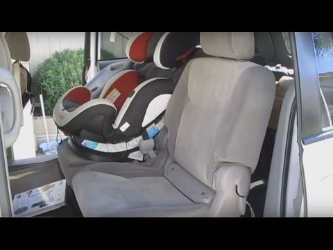 Toyota Sienna 2004 2010 Second Row Seat Install Remove The