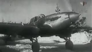 О легендарном штурмовике ИЛ-2. Учебный фильм для летчиков. НИИ ВВС, 1944 г. Москва