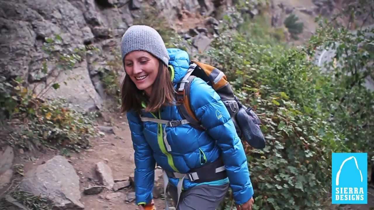 Sierra Designs DriDown: Women's TOV Jacket - YouTube