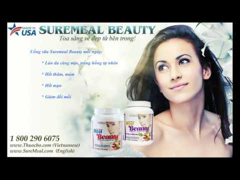 Sữa bột dinh dưỡng SureMeal Beauty giúp hết nám, đẹp da