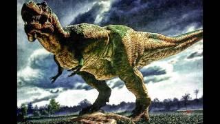 T-rex & spinosaurus Tribute Hero Skillet