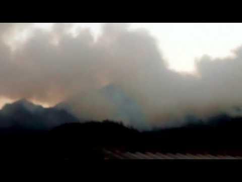 Incendio foresta de aguas claras en bogota
