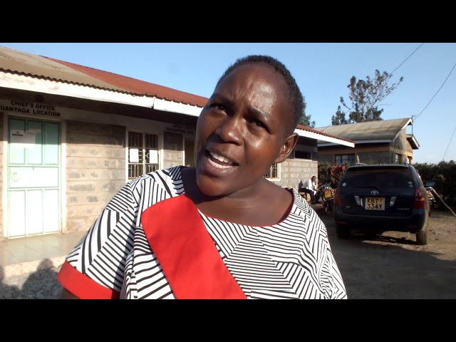 VETERINARY QUACKS VACCINATING COWS AND GOATS IN THIKA - Salome Wanjira, vaccination victim