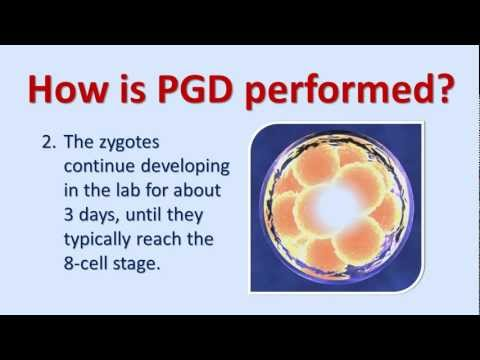 An Introduction To Preimplantation Genetic Diagnosis (PGD)