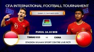 JADWAL SIARAN LANGSUNG TELEVISI TIMNAS U23 VS CHINA LIVE RCTI MALAM INI