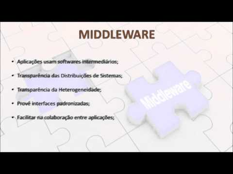 Middleware - Sistemas Distribuídos - UNIFACS 2016