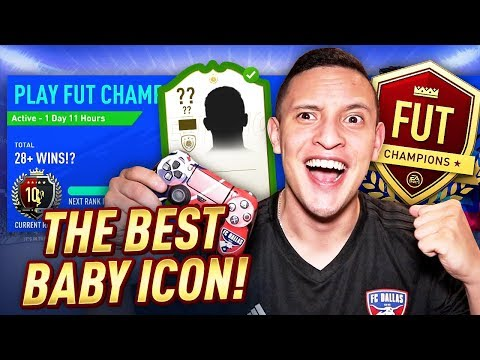 OMG THE BEST BABY ICON!! TOP 100 OR ELITE 1!? FUT CHAMPS LIVE PRO GAMEPLAY!   FIFA 19 ULTIMATE TEAM