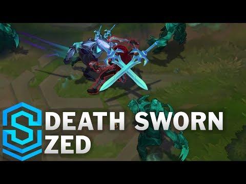 Death Sworn Zed Skin Spotlight - Pre-Release - League of Legends