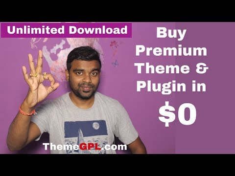 How to Download Premium Theme & Plugin at $0 - Free Download WordPress Paid/Premium Theme & Plugin thumbnail