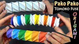 Pako Pako by Tomoko Fuse - AMAZING Transforming Origami!