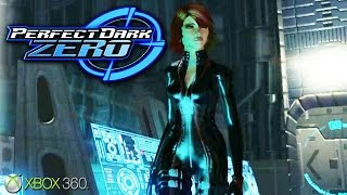 Perfect Dark Zero - Gameplay Xbox 360 (Release Date 2005)