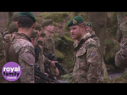 Duke of Sussex presents green berets to proud Royal Marines recruits