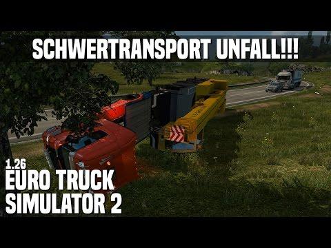 ETS2 ★ SCHWERTRANSPORT SCHWERER UNFALL ★ #2 Euro Truck Simulator 2 [Deutsch/HD]