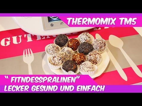Thermomix® TM5®♥leckere Fitness Pralinen♥eat clean♥vegan
