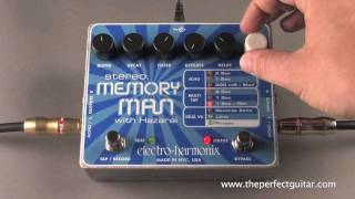 Electro-Harmonix Stereo Memory Man with Hazarai Demo - The Perfect Guitar