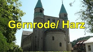 Gernrode/Harz bekannt f. Stiftskirche u. grosse  Kuckucksuhr *Kuckucksuhrenmuseum*Sachsen-Anhalt