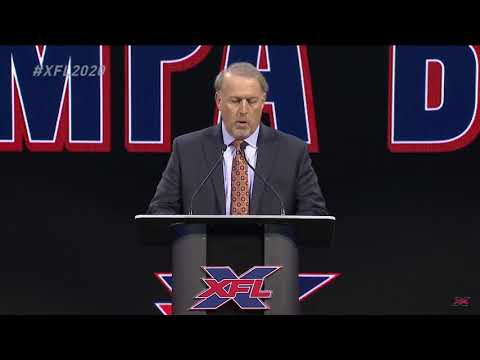 XFL returning in 2020 with team in Tampa as part of relaunch