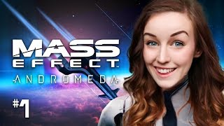 🚀MASS EFFECT: ANDROMEDA! GAMEPLAY WALKTHROUGH PART 1 ☄ CHARACTER CREATION + FIRST MISSION! ✨