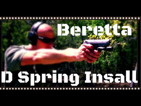 How To Install A Beretta 92/M9 D Spring (HD)
