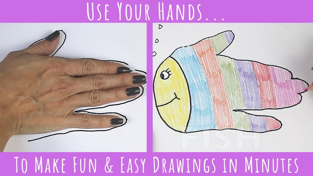 Fun And Easy Drawing Tricks For Kids Draw With Me Today Youtube
