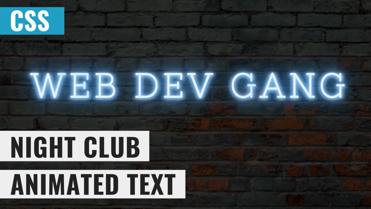 Shining Text Animation Effects Using HTML and CSS  Tutorial