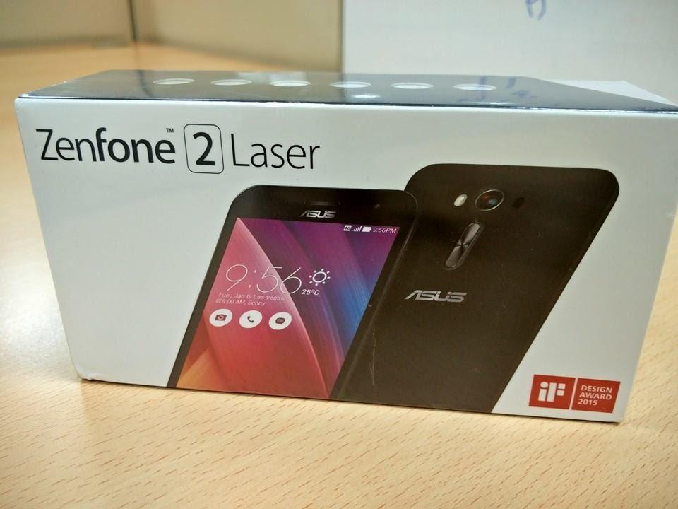 [Hindi] Asus Zenfone 2 Laser ZE550KL Unboxing Review ...