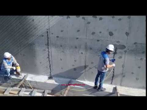 Hướng dẫn thi công bơm keo epoxy sửa chữa bê tông