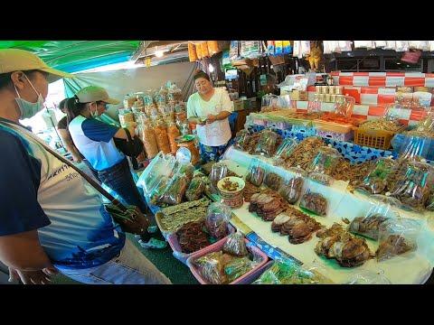 Ep.46 | ตลาดบ้านเพ จังหวัดระยอง แหล่งซื้อของฝาก อาหารทะเลแห้ง สดๆใหม่ ชิมได้แบบจุใจ