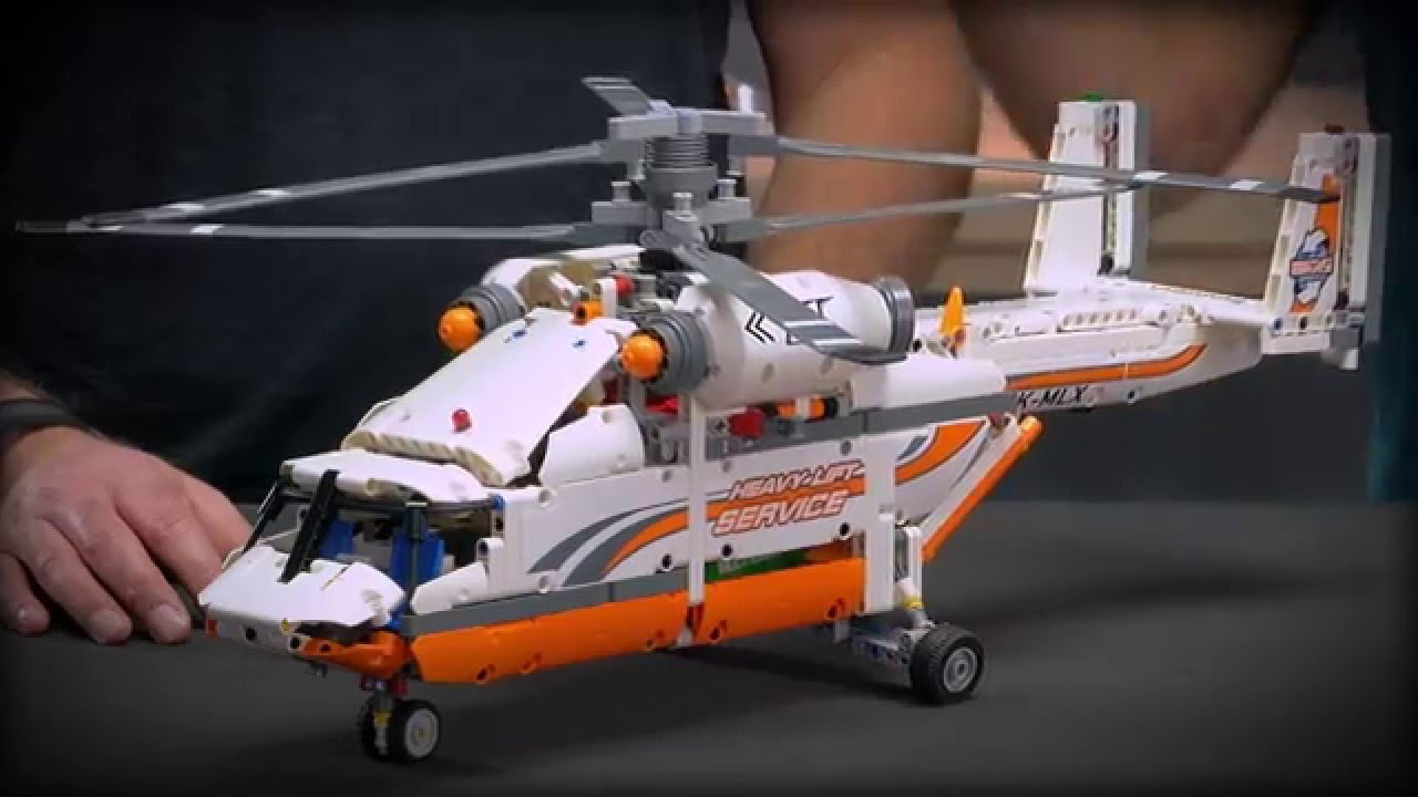 heavy lift helicopter lego technic designer video 42052 youtube. Black Bedroom Furniture Sets. Home Design Ideas