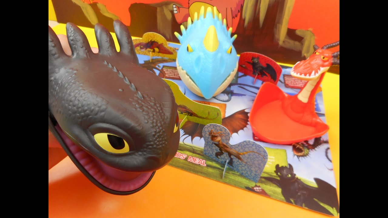 WENDY S 2015 DREAMWORKS DRAGONS SET OF 5 KIDS MEAL TOYS