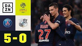 Julian Draxler glänzt und trifft bei Pariser Kantersieg: PSG - Amiens 5:0 | Ligue 1 | DAZN
