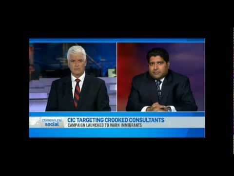 Canadian Immigration Expert Omar Khan at CTV News