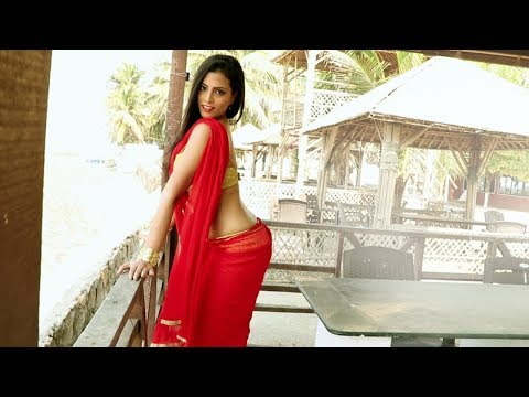 Bong Beauty In Saree # Model Photoshoot In Swimming Pool