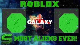 Roblox:Galaxy:MOST ALIENS EVER SEEN!! CARRIER VS 100 ALIENS!!