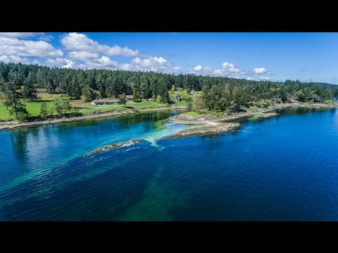3597 Juriet Road, Ladysmith B.C.-13 Acre Luxury Oceanfront Property For Sale