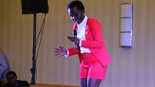 Anne Kansiime Comedy in Maryland USA 2015 ~ Part 2