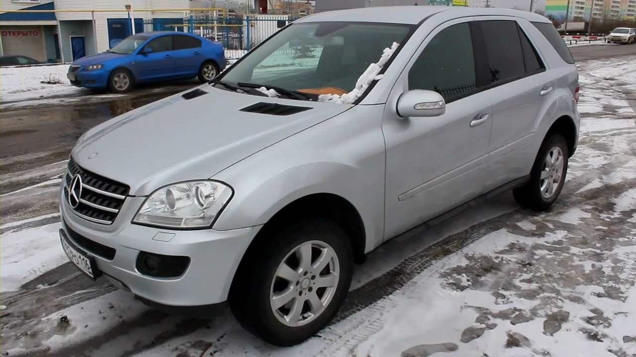 2008 Mercedes Benz Ml 320 Cdi 4matic W164 Start Up Engine And In Depth Tour Youtube