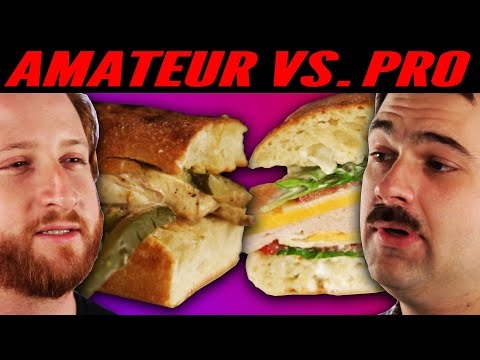 Download Youtube: Amateur Chef Vs. Professional Chef: Best Sandwich