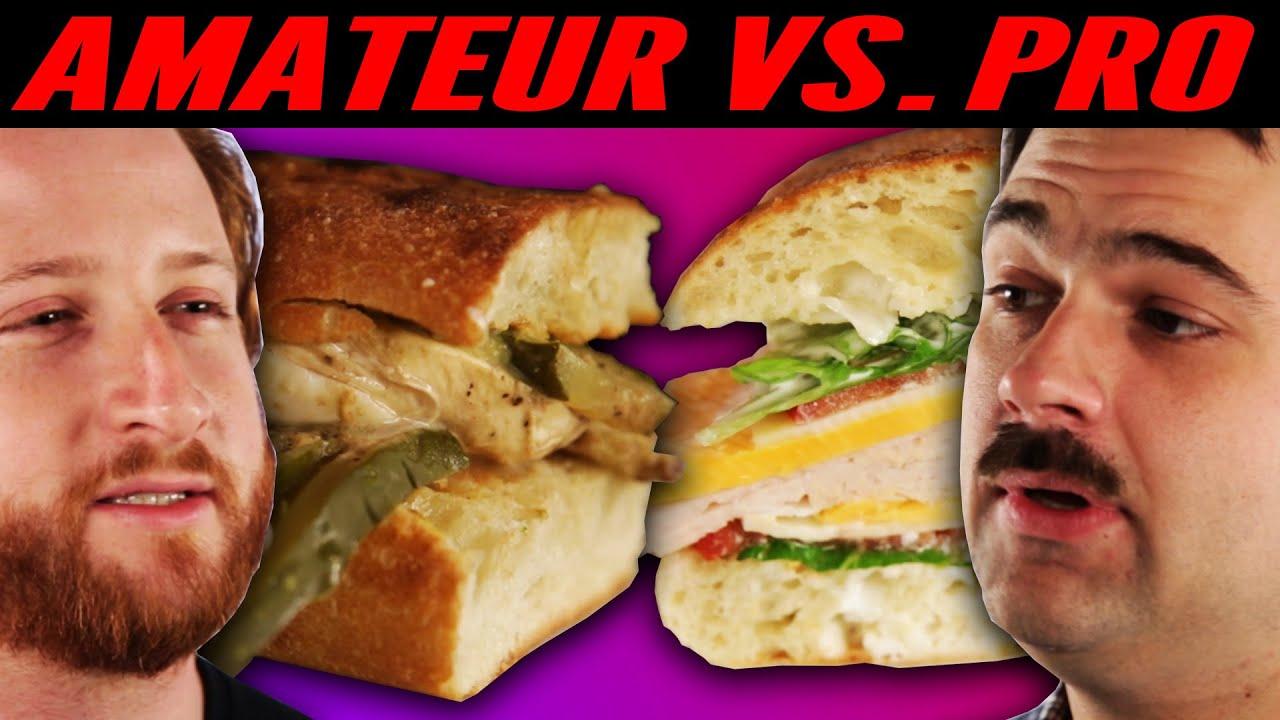 Download Amateur Chef Vs. Professional Chef: Best Sandwich
