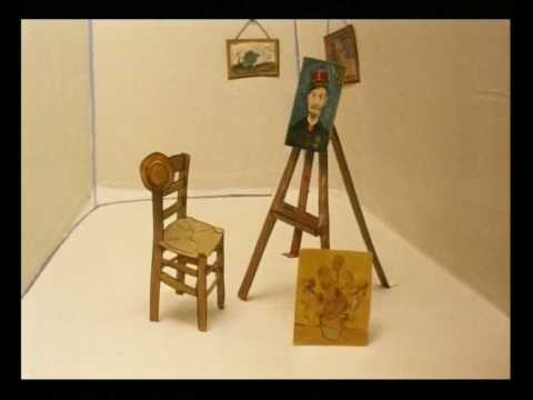 Slaapkamer Van Gogh : Famous paintings vincent van gogh de slaapkamer in arles youtube
