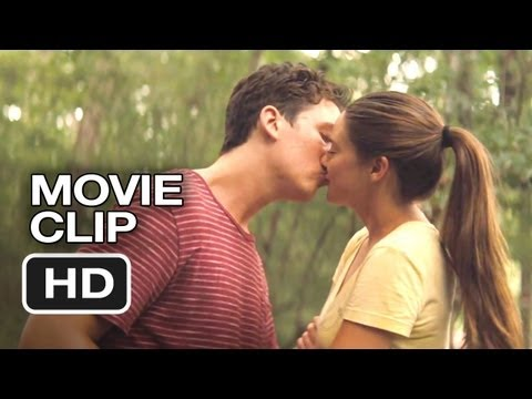 The Spectacular Now   First Kiss 2013  Shailene Woodley, Miles Teller Movie HD