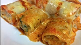 Beef & Spinach Cannelloni - Todd's Kitchen
