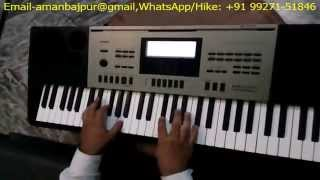 Casio CTK 6300in,7300in   How To Balance or Adjust Volume Leval Of Styles,Rhythms or Accompaniment I