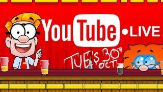 Live cartoon show on Youtube