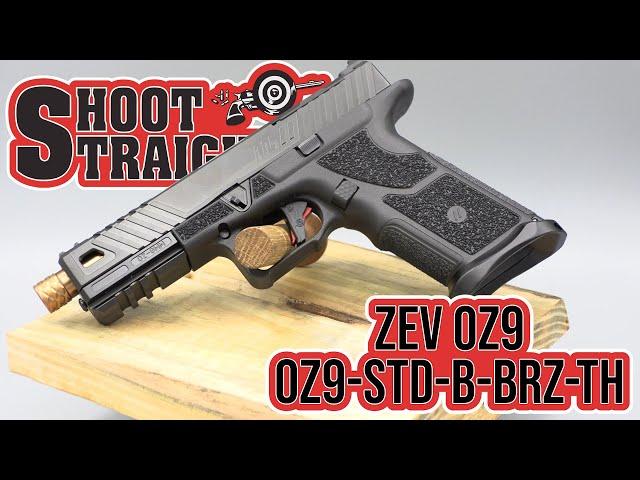 ZEV OZ9 Bronze Threaded Barrel Spotlight