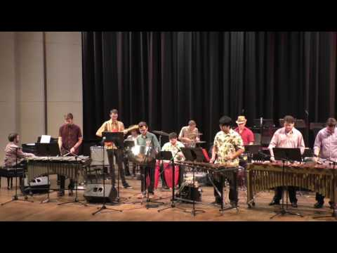 Afro Cuban Percussion and Loyola Jazz Ensemble