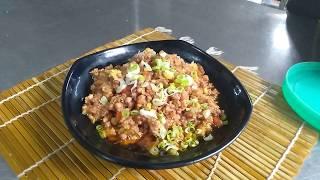 Cách làm thịt xay trưng mắm tép - món đưa cơm